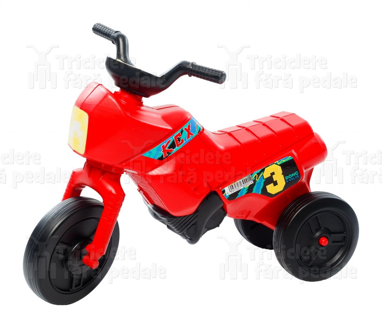 Product #1 image - Tricicletă fără pedale mini, roșu-negru