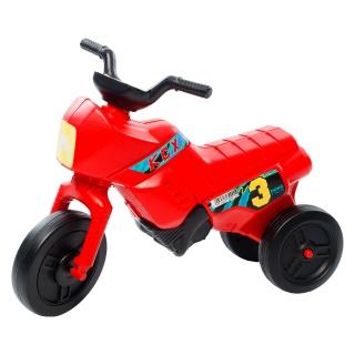 Tricicletă fără pedale mini, roșu-negru