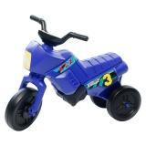 Tricicletă fără pedale MINI, albastru-negru