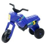 Tricicletă fără pedale MAXI, albastru-negru