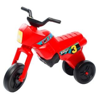 Tricicletă fără pedale MAXI, roșu