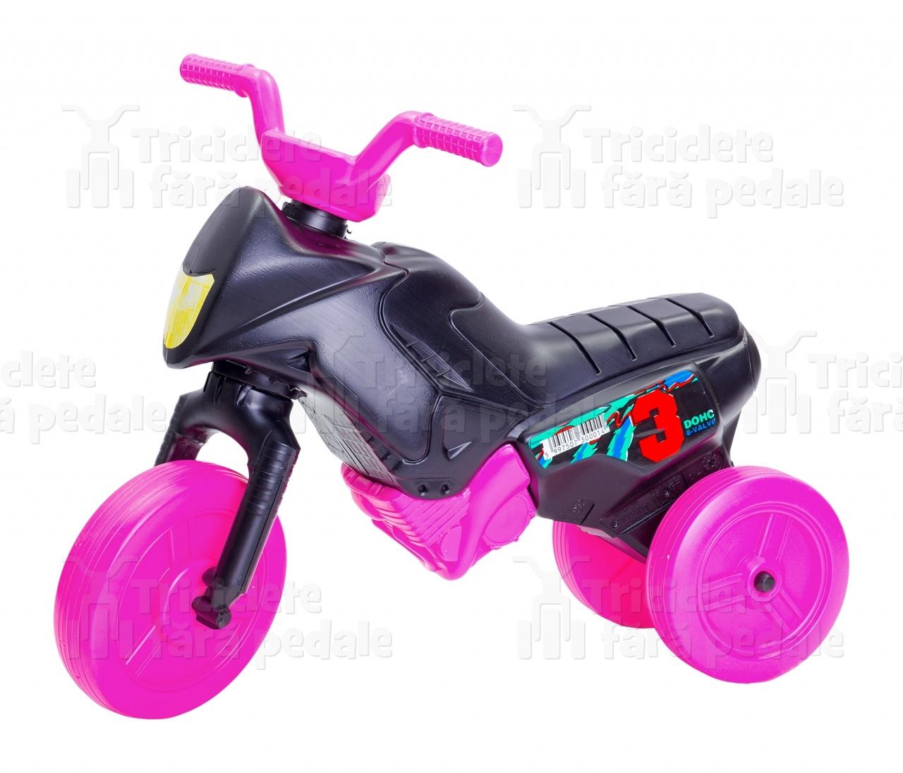 Product #23 image - Tricicletă fără pedale mini, negru-roz