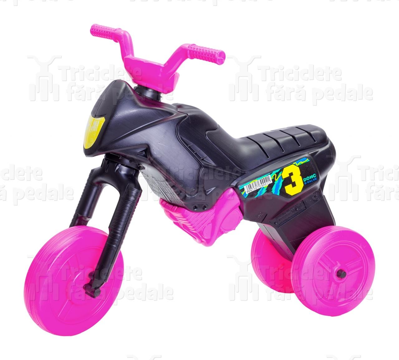 Product #24 image - Tricicletă fără pedale MAXI, negru-roz