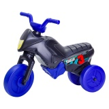 Tricicletă fără pedale mini, negru-albastru