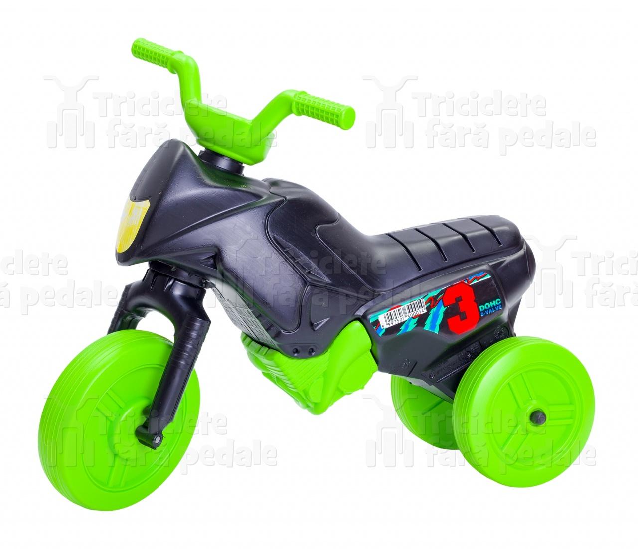 Product #27 image - Tricicletă fără pedale MINI, negru-verde
