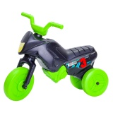 Tricicletă fără pedale MINI, negru-verde
