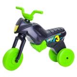 Tricicletă fără pedale MAXI, negru-verde