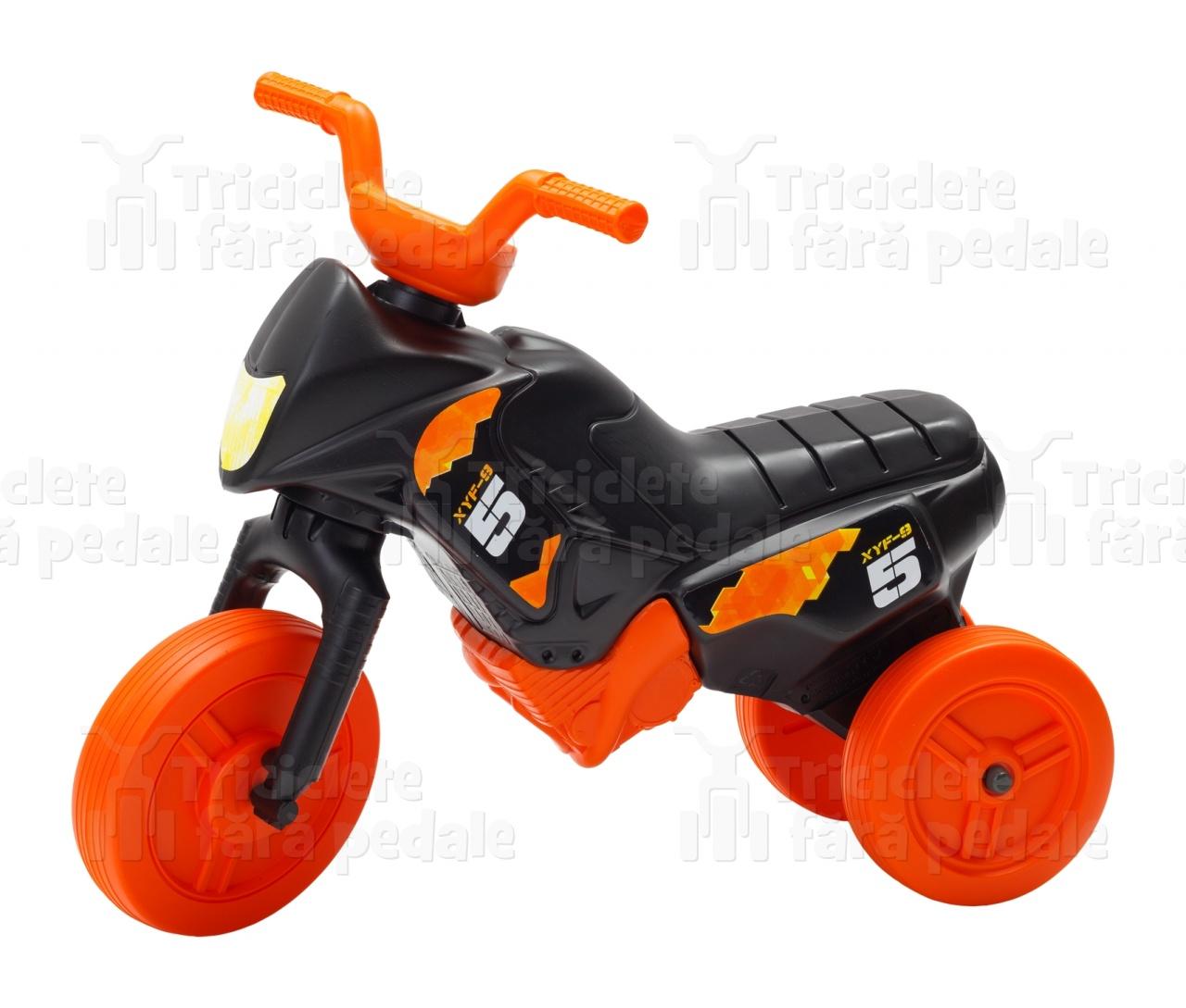 Product #39 image - Tricicletă fără pedale MINI, negru-portocaliu