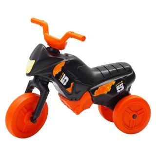 Tricicletă fără pedale MINI, negru-portocaliu