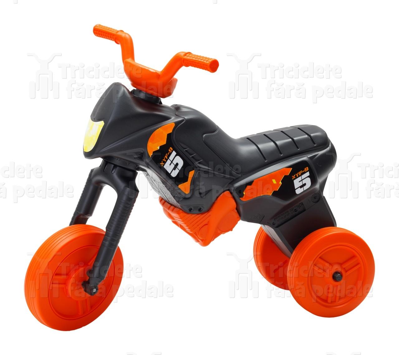 Product #40 image - Tricicletă fără pedale MAXI, negru-portocaliu