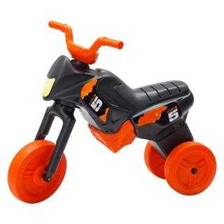 Tricicletă fără pedale MAXI, negru-portocaliu