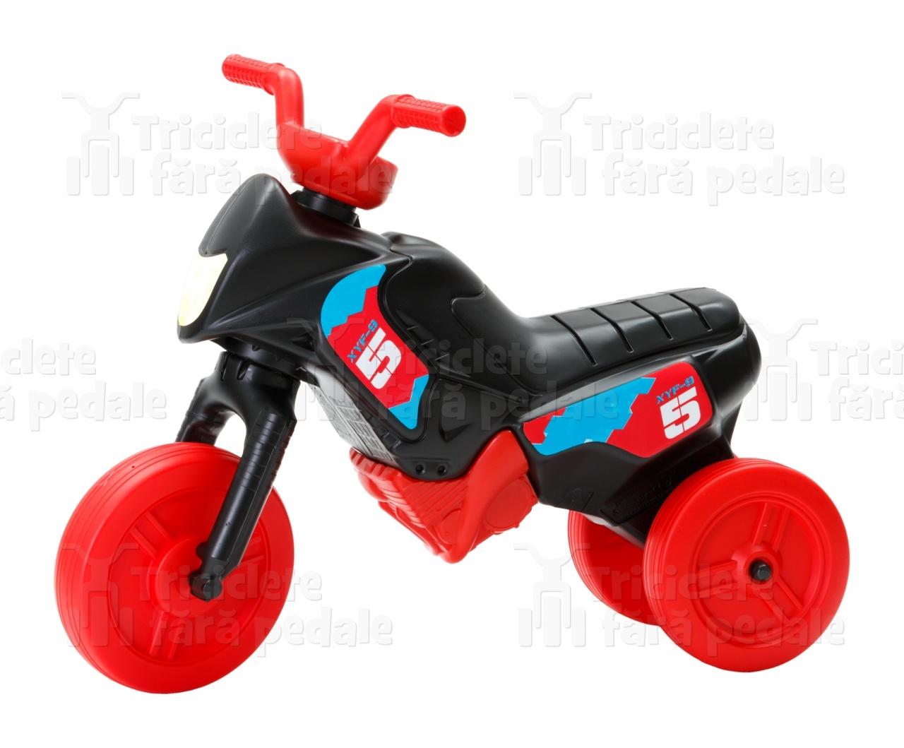 Product #48 image - Tricicletă fără pedale MINI, negru-roşu