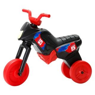 Tricicletă fără pedale MAXI, negru-roșu