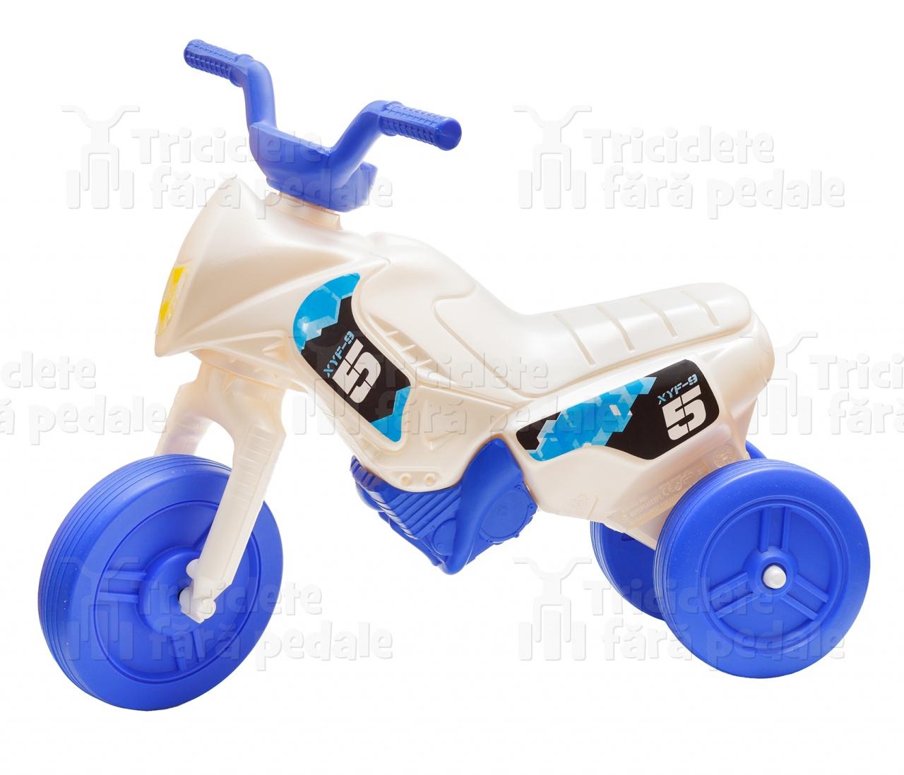 Product #51 image - Tricicletă fără pedale mini, alb-albastru
