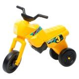 Tricicletă fără pedale MAXI, galben-negru